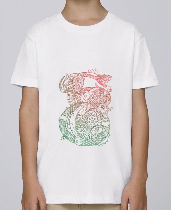 Tee Shirt Garçon Stanley Mini Paint Méca Serpent par Tomi Ax