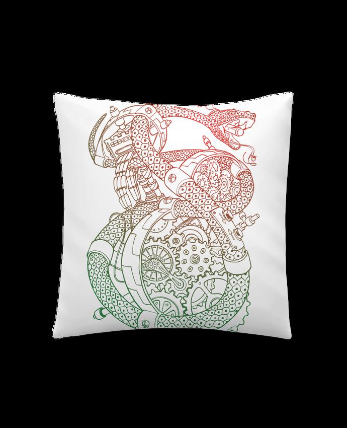 Coussin Synthétique Doux 41 x 41 cm Méca Serpent par Tomi Ax