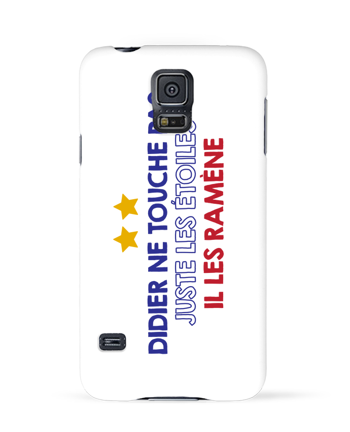 Coque 3D Samsung Galaxy S5 Didier Champion par tunetoo