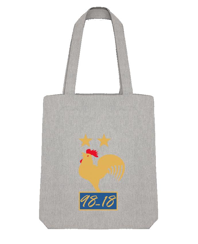 Tote Bag Stanley Stella France champion du monde 2018 par Mhax