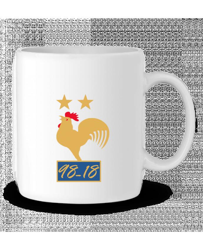 Mug en Céramique France champion du monde 2018 par Mhax