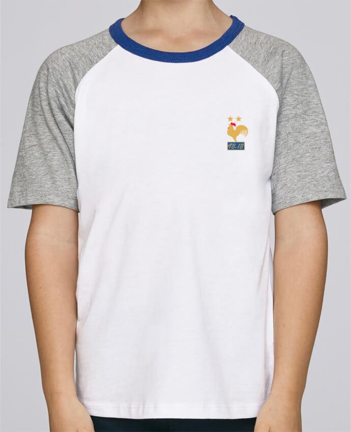 Tee-Shirt Enfant Stanley Mini Jump Short Sleeve France champion du monde 2018 par Mhax
