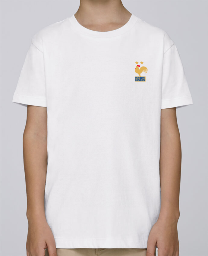 Tee Shirt Garçon Stanley Mini Paint France champion du monde 2018 par Mhax