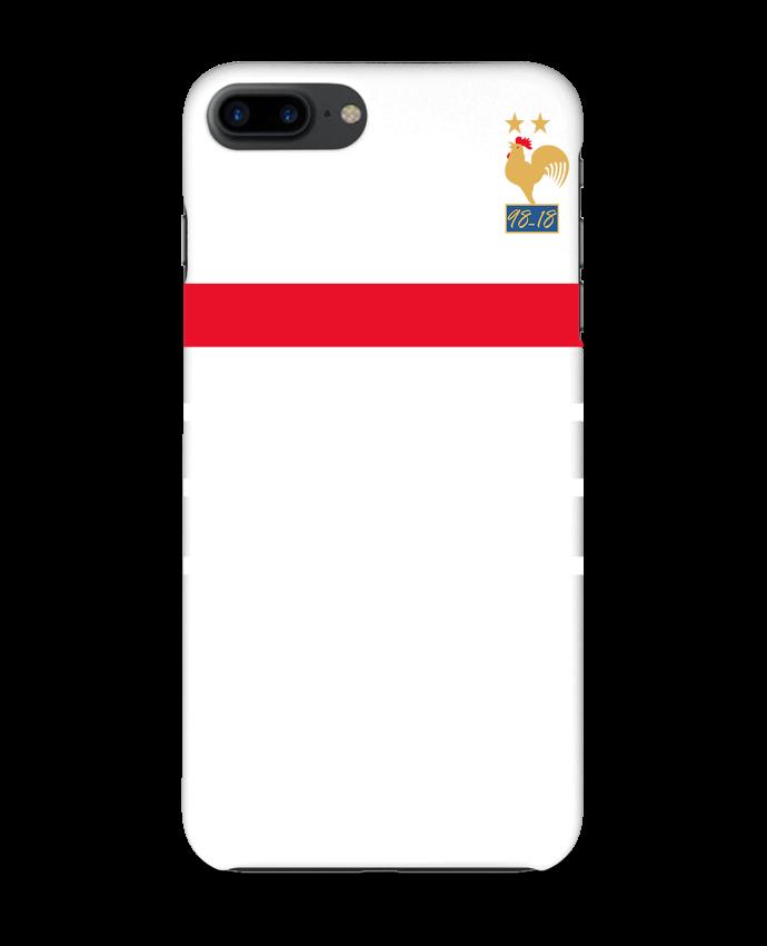 Coque 3D Iphone 7+ La France Champion du monde 2018 rétro par Mhax