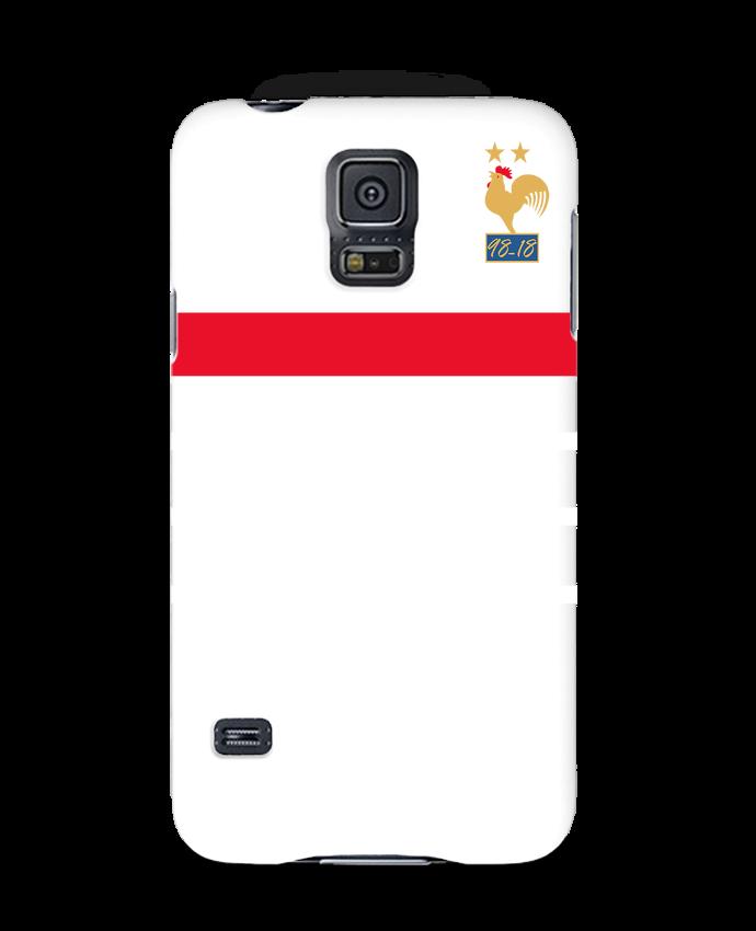 Coque 3D Samsung Galaxy S5 La France Champion du monde 2018 rétro par Mhax