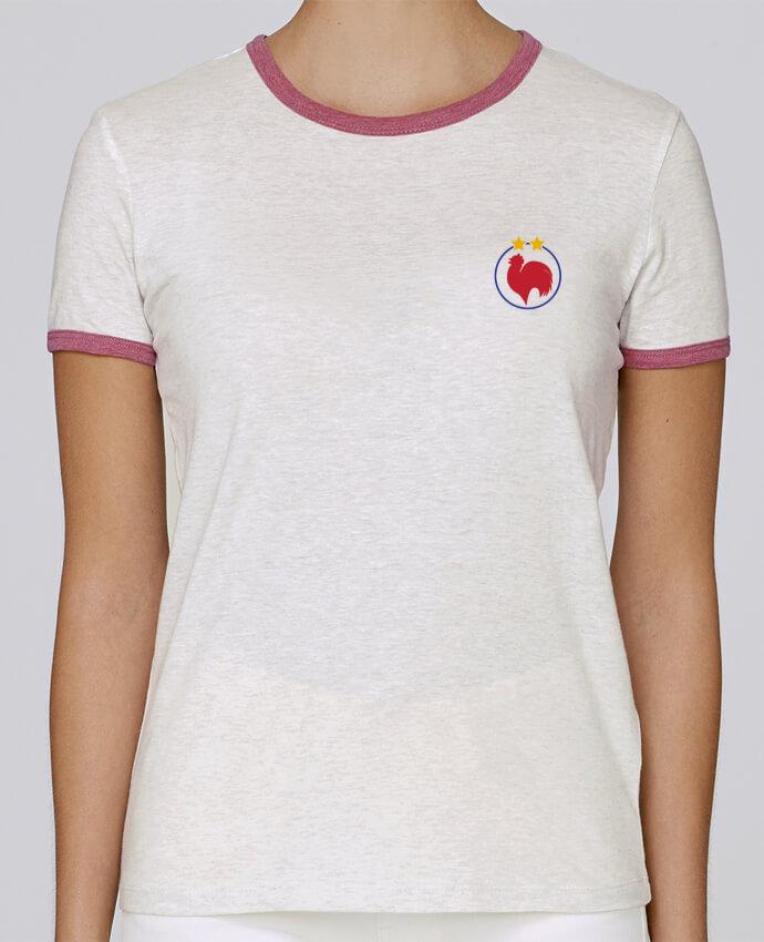 T-shirt Femme Stella Returns Champion Coq 2 étoiles pour femme par tunetoo