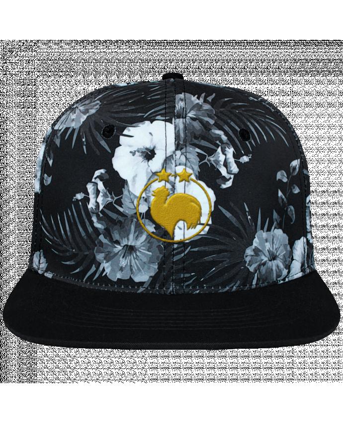 Casquette SnapBack Couronne Graphique Hawaii Champion 2 étoiles brodé brodé et toile imprimée motif floral