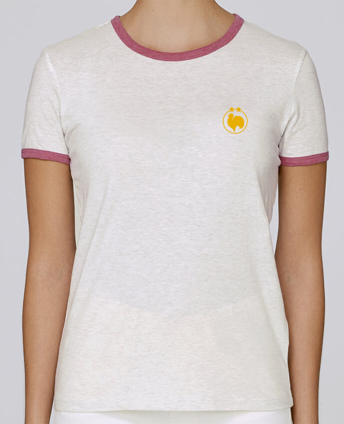 T-shirt Femme Stella Returns femme brodé Champion 2 étoiles brodé par tunetoo