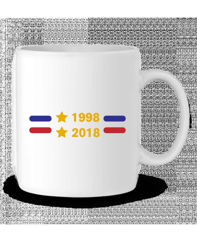 Mug en Céramique Champions du monde 2018 brodé par tunetoo