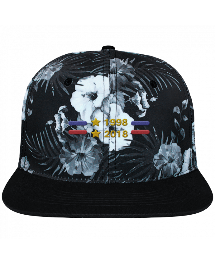 Casquette SnapBack Couronne Graphique Hawaii Champions du monde 2018 brodé brodé et toile imprimée motif f