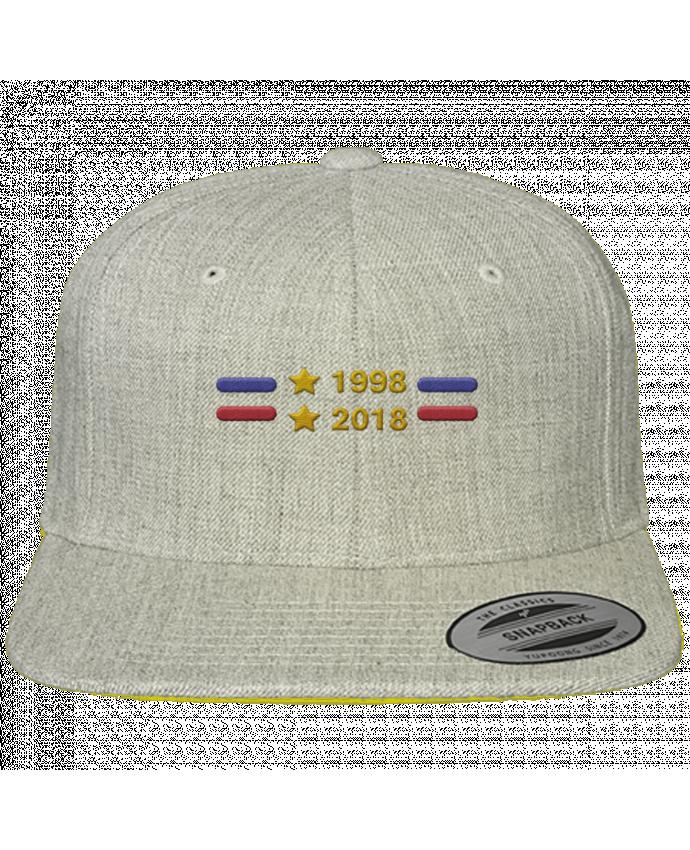 Casquette Snapback Classique Champions du monde 2018 brodé par tunetoo