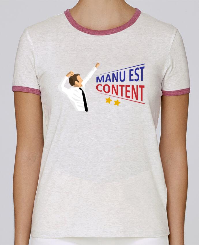 T-shirt Femme Stella Returns Célébration Macron pour femme par tunetoo