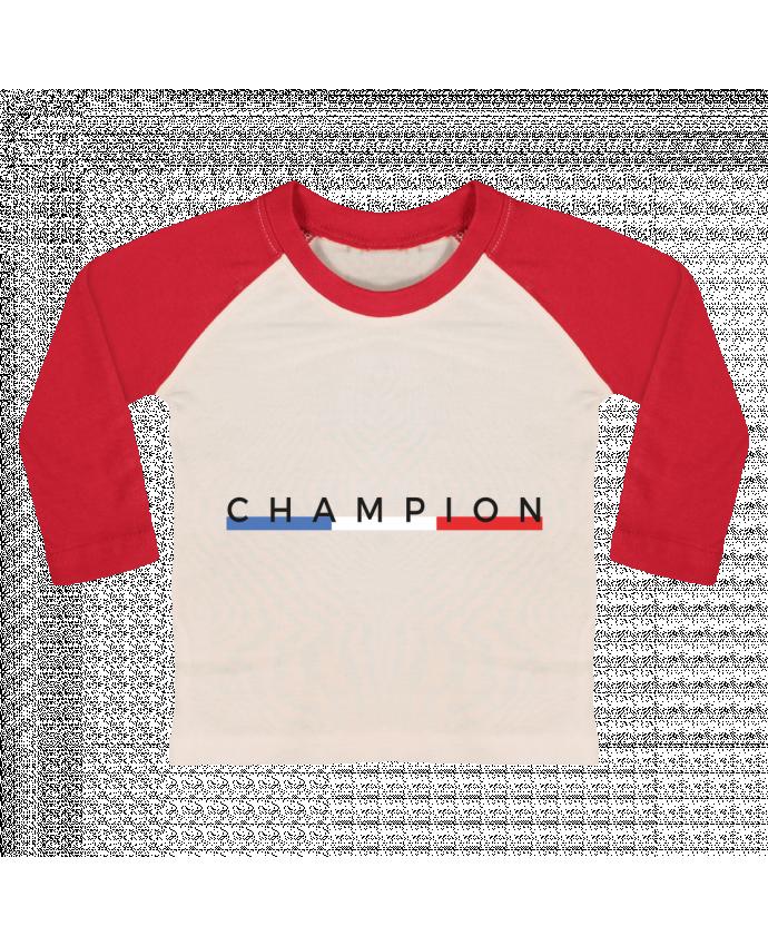 T-shirt Bébé Baseball Manches Longues Champion par Nana
