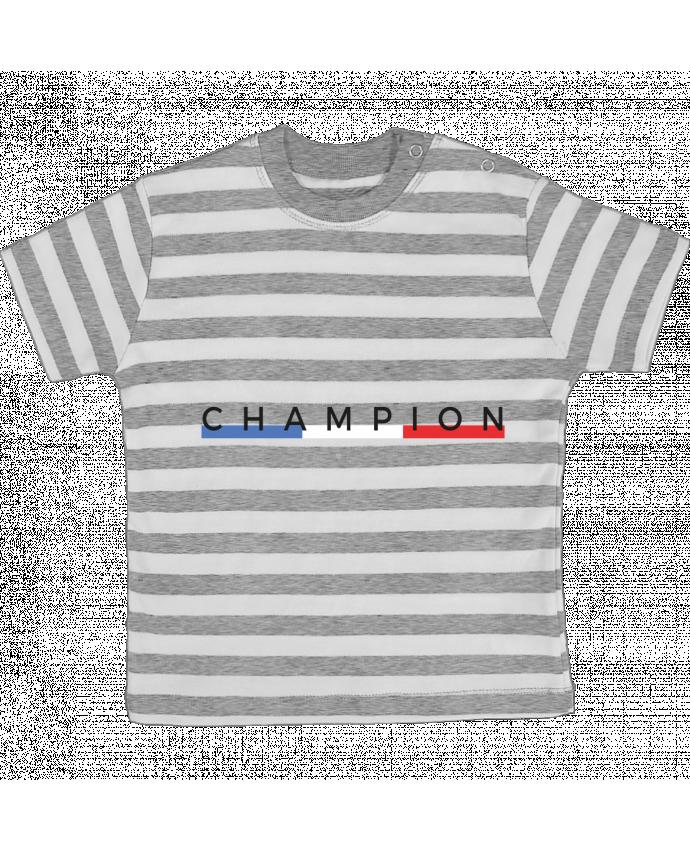 T-shirt Bébé à Rayures Champion par Nana