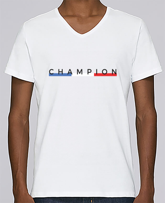T-shirt Col V Homme Stanley Relaxes Champion par Nana