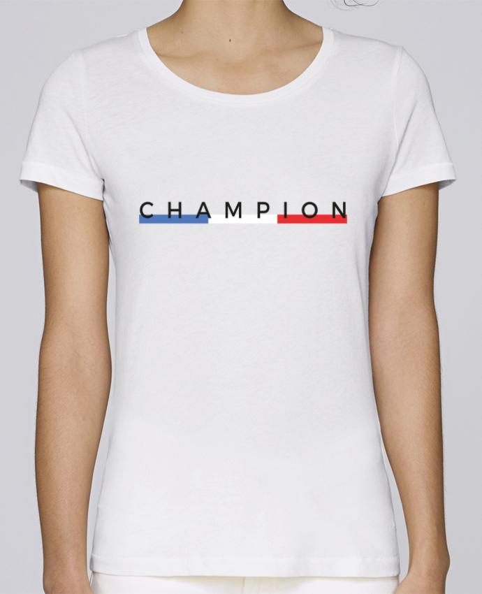 T-shirt Femme Stella Loves Champion par Nana