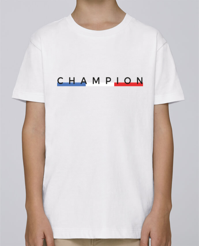 Tee Shirt Garçon Stanley Mini Paint Champion par Nana