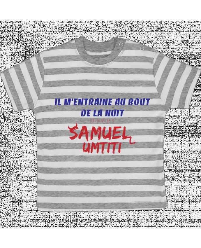 T-shirt Bébé à Rayures Chanson Equipe De France Tunetoo