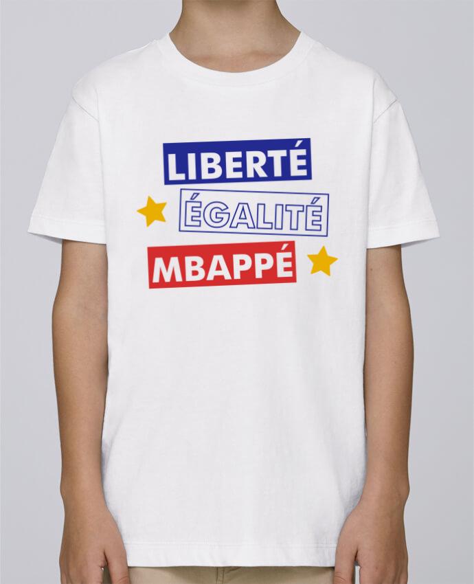 Tee Shirt Garçon Stanley Mini Paint Equipe de France MBappé par tunetoo