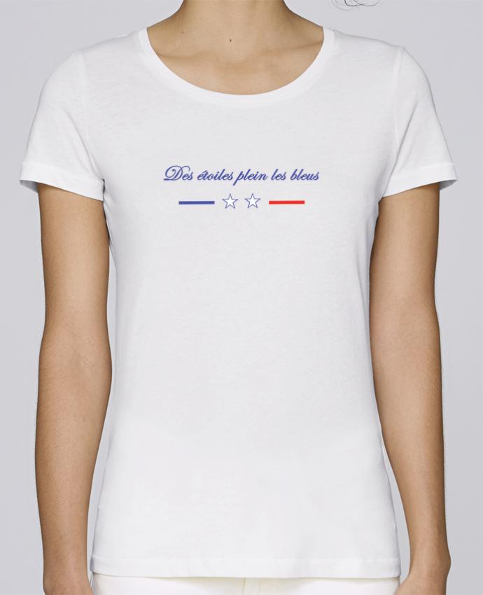 T-shirt Femme Stella Loves DES ETOILES PLEIN LES BLEUS par Tee Smiles