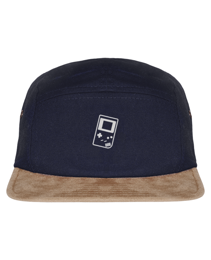 5 panel Daim Gameboy brodé par tunetoo