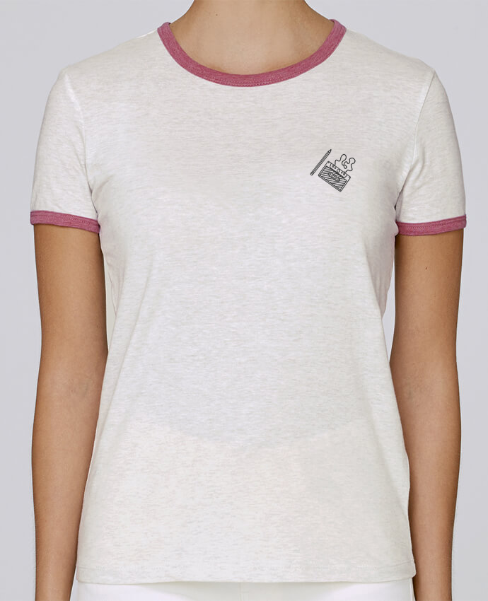 T-shirt Femme Stella Returns femme brodé Cassette brodé par tunetoo