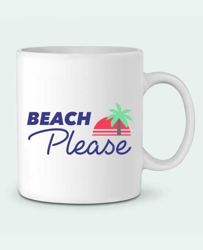 Mug en Céramique Beach please par Ruuud