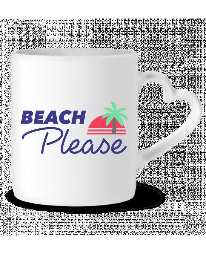 Mug Coeur Beach please par Ruuud