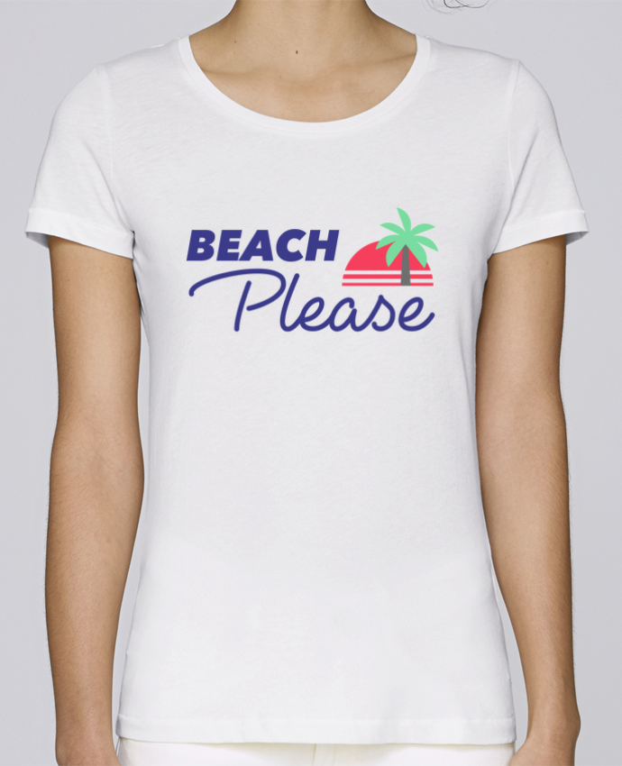 T-shirt Femme Stella Loves Beach please par Ruuud