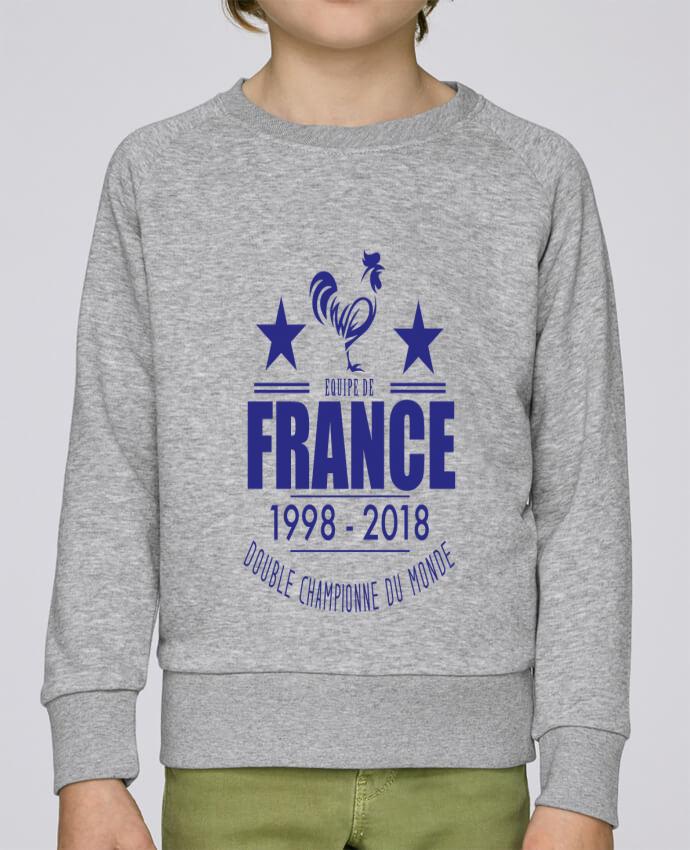 Sweat Col Rond Enfant Stanley Mini Scouts Equipe de france double championne du monde par Yazz