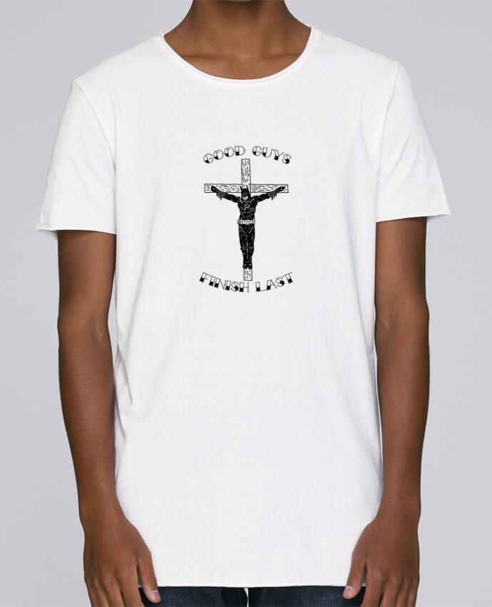 T-shirt Homme Oversized Stanley Skates Batman Jesus par Nick cocozza