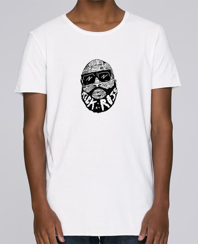 T-shirt Homme Oversized Stanley Skates Rick Ross head par Nick cocozza