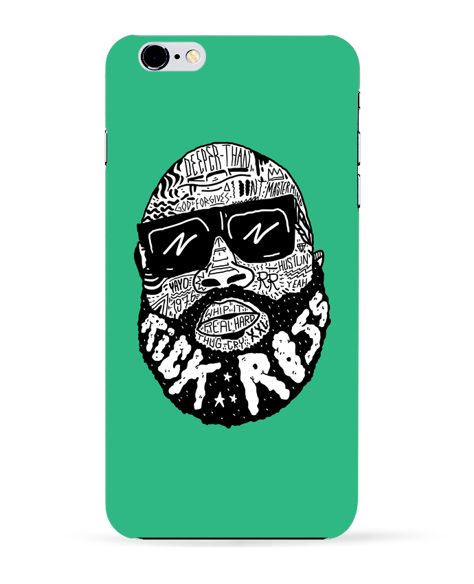 Coque 3D Iphone 6+ Rick Ross head de Nick cocozza