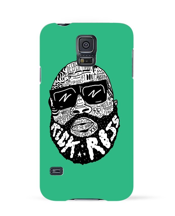 Coque 3D Samsung Galaxy S5 Rick Ross head par Nick cocozza