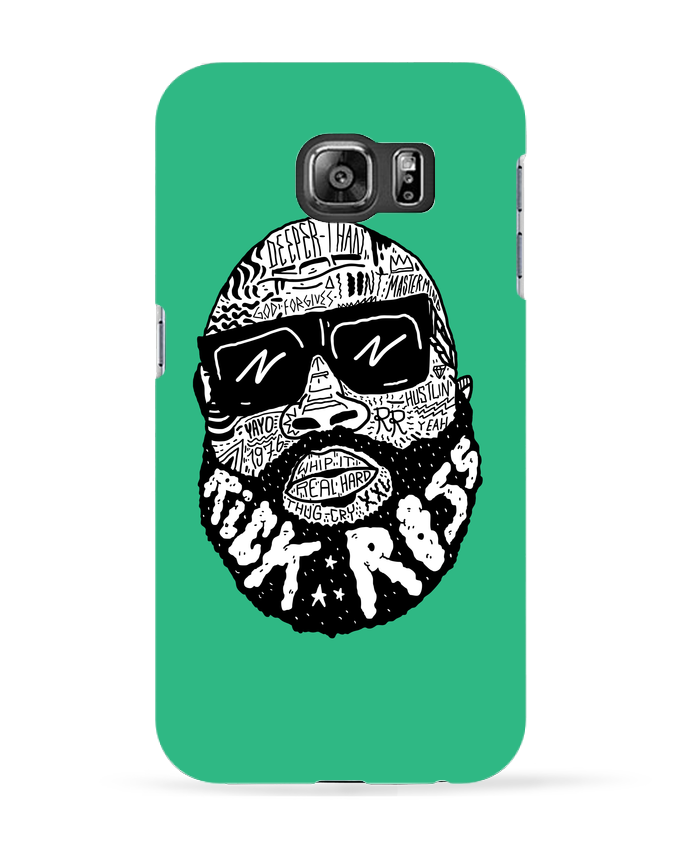 Coque 3D Samsung Galaxy S6 Rick Ross head - Nick cocozza