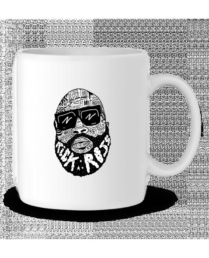 Mug en Céramique Rick Ross head par Nick cocozza