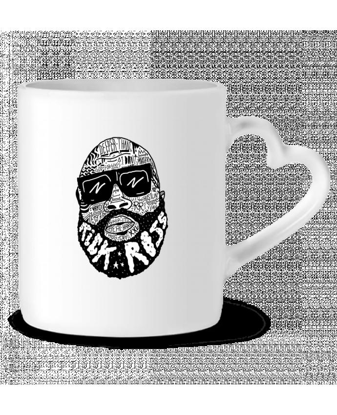 Mug Coeur Rick Ross head par Nick cocozza