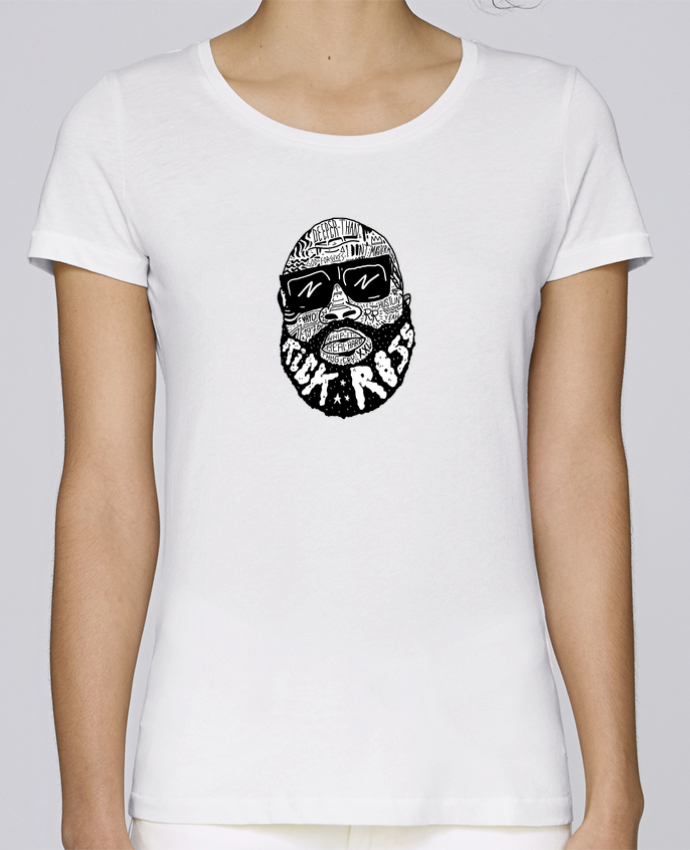 T-shirt Femme Stella Loves Rick Ross head par Nick cocozza