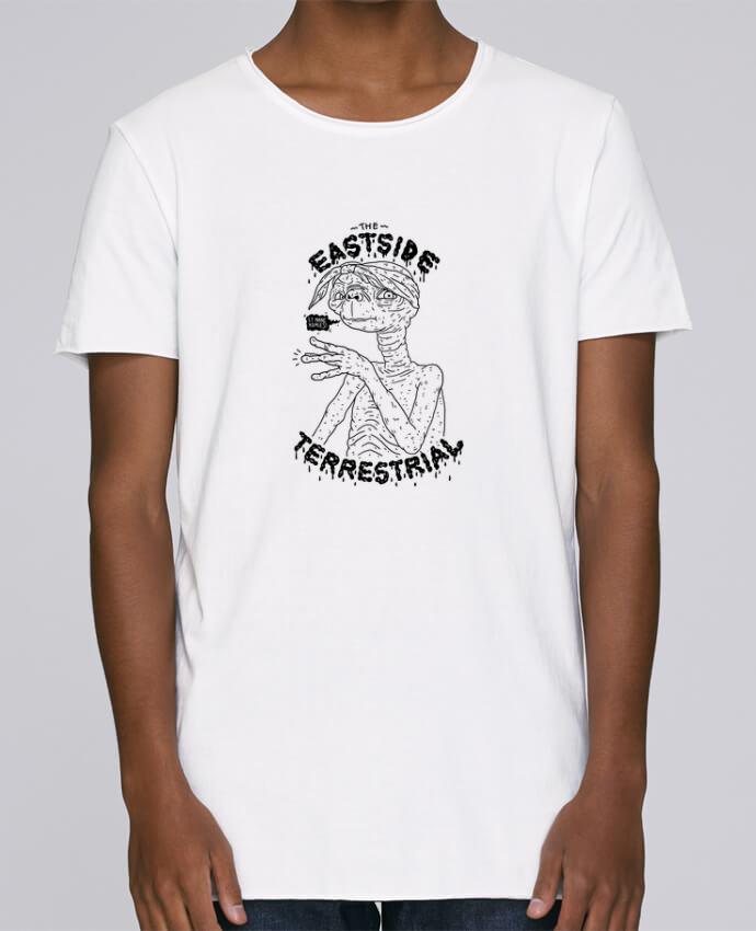 T-shirt Homme Oversized Stanley Skates Gangster E.T par Nick cocozza