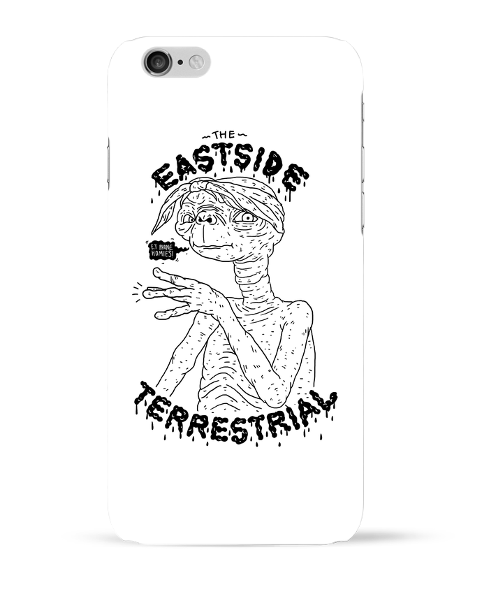 Coque 3D Iphone 6 Gangster E.T par Nick cocozza