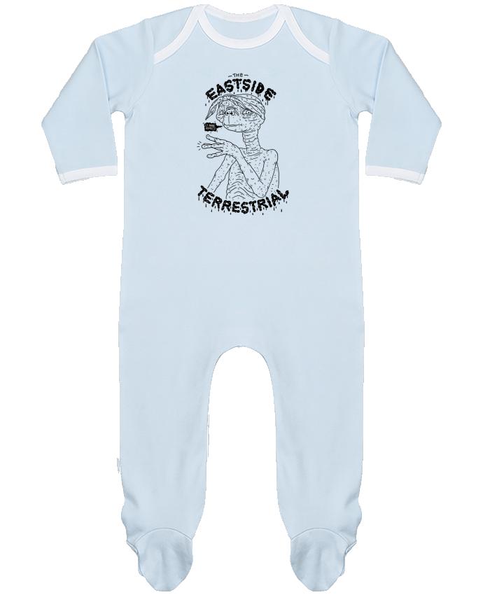 Pyjama Bébé Manches Longues Contrasté Gangster E.T par Nick cocozza