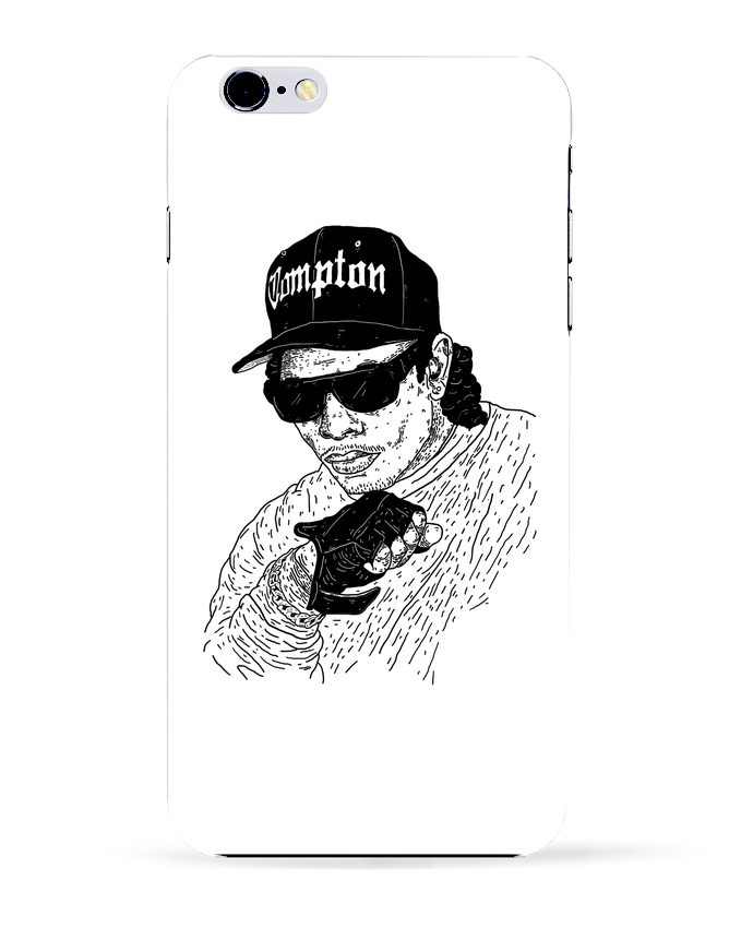 Coque 3D Iphone 6+ Eazy E Rapper de Nick cocozza