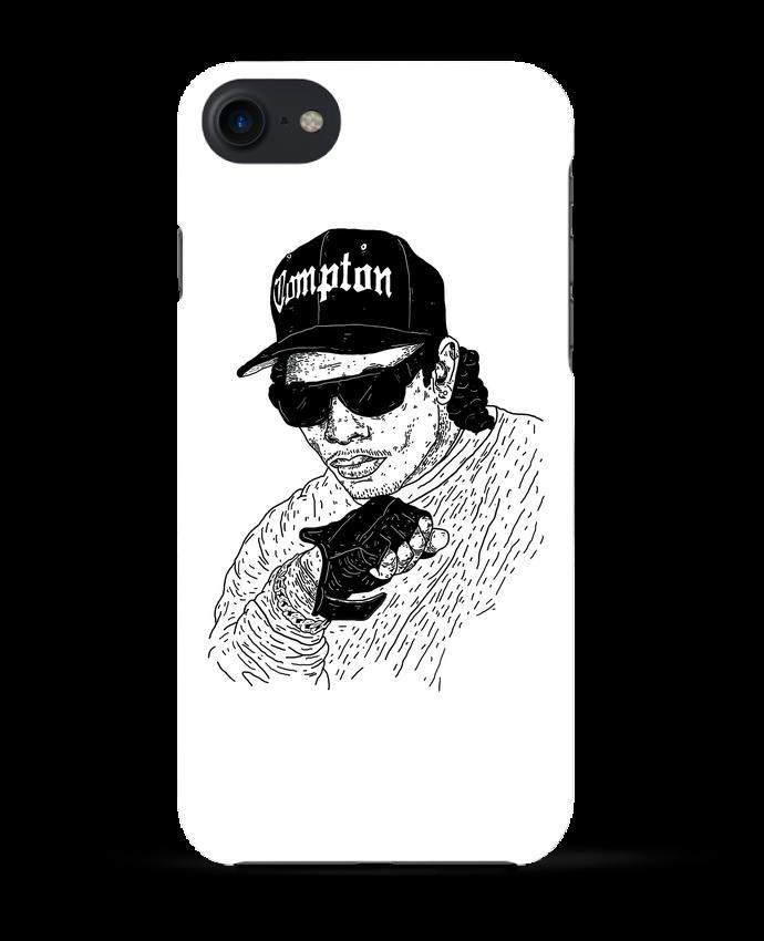Coque 3D Iphone 7 Eazy E Rapper de Nick cocozza