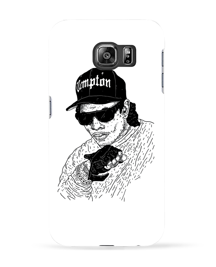 Coque 3D Samsung Galaxy S6 Eazy E Rapper - Nick cocozza