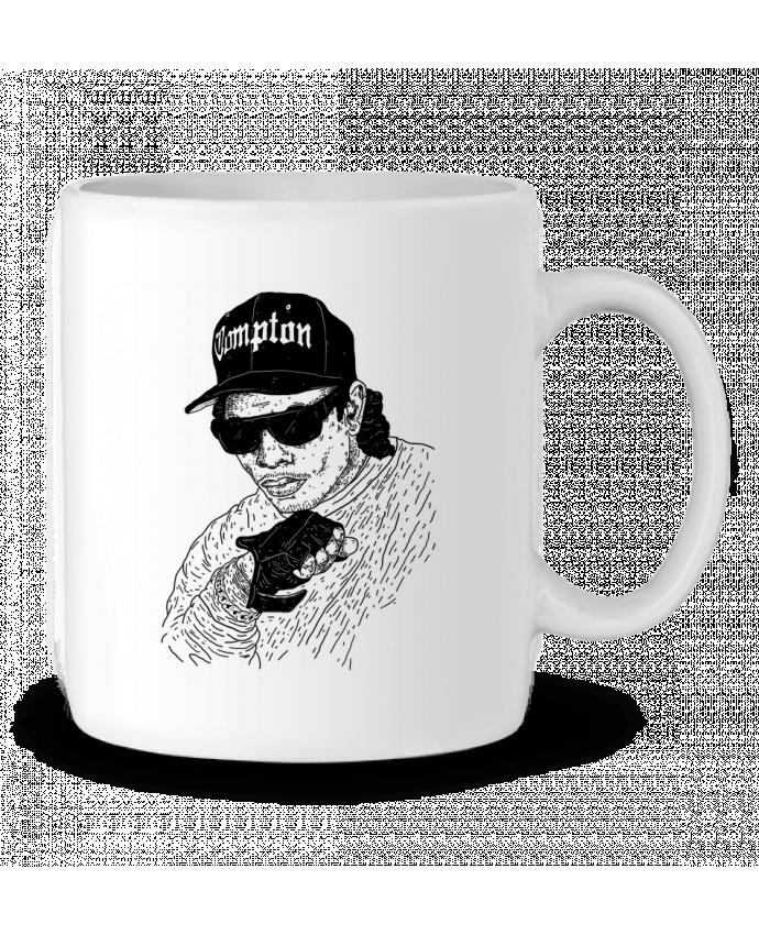 Mug en Céramique Eazy E Rapper par Nick cocozza