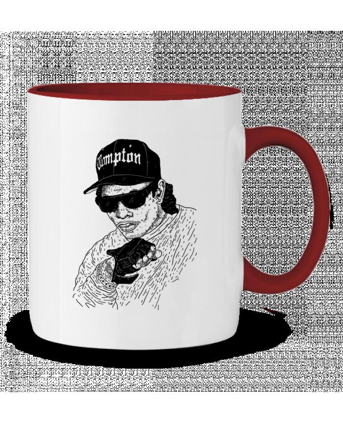 Mug en Céramique Bicolore Eazy E Rapper Nick cocozza