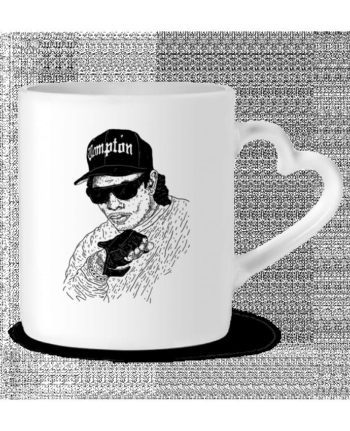 Mug Coeur Eazy E Rapper par Nick cocozza