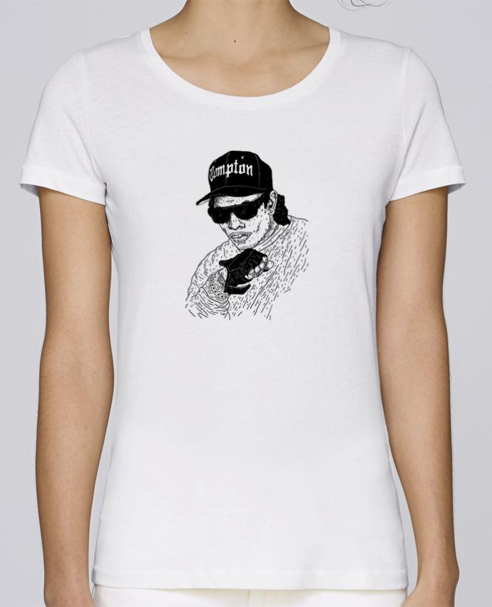 T-shirt Femme Stella Loves Eazy E Rapper par Nick cocozza