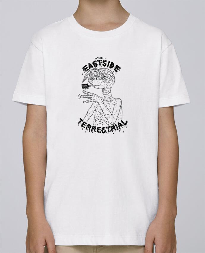 Tee Shirt Garçon Stanley Mini Paint Gangster E.T par Nick cocozza