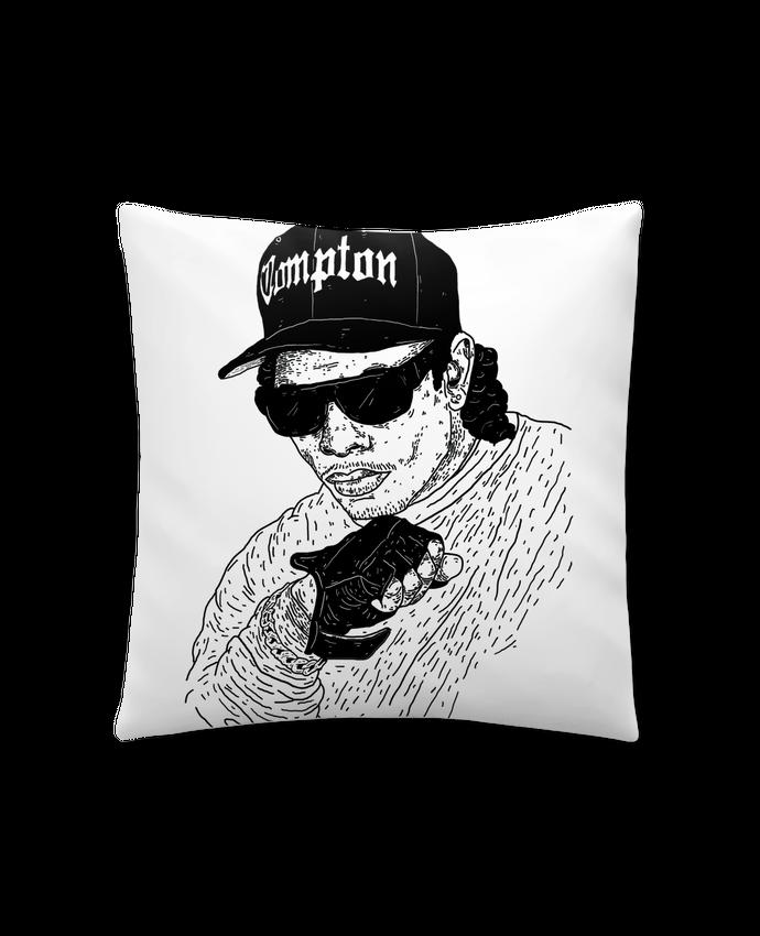 Coussin Synthétique Doux 41 x 41 cm Eazy E Rapper par Nick cocozza